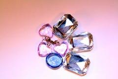 2颗珠宝珍珠 库存图片