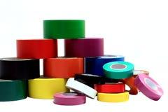 2颜色每个磁带 免版税库存照片