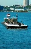 2驳船 库存图片