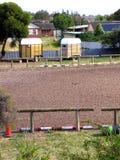 2骑马都市 库存照片