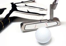 2高尔夫球东西 库存图片