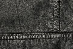 2黑色皮革 免版税库存图片