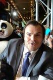 2黑色fu插孔kung熊猫首放悉尼 免版税库存图片