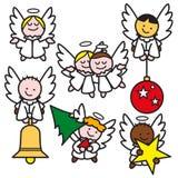 2 änglar little Royaltyfria Bilder