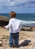 2 éénjarigenjongen Royalty-vrije Stock Afbeeldingen