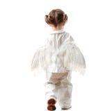 2 éénjarigenmeisje Royalty-vrije Stock Fotografie