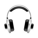 2 écouteurs Photos libres de droits