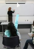 2 étudiants et professeurs Photos libres de droits
