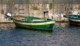 2 łódkowatego stary Obrazy Royalty Free
