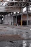 2 övergiven fabrik Royaltyfri Bild