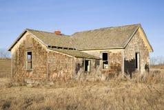 2 övergivet hus arkivbilder