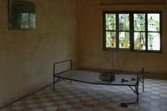 2 łóżek więzienie. fotografia stock