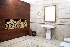 2 łazienek we włoszech Zdjęcia Royalty Free