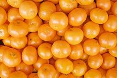 2 świeżego mandarines Fotografia Stock