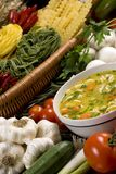 2 świeżej zupy Obrazy Stock