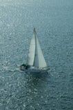 2 żeglować łodzią Fotografia Stock