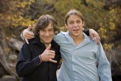 2 αδελφοί Στοκ φωτογραφία με δικαίωμα ελεύθερης χρήσης