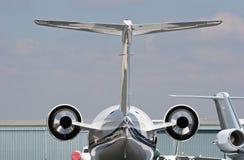 2 αεριωθούμενα αεροπλάνα Στοκ Φωτογραφίες