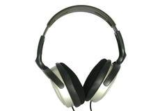 2 ακουστικά που απομονών&omi Στοκ φωτογραφία με δικαίωμα ελεύθερης χρήσης