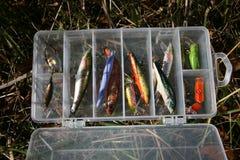 2 αλιεύοντας εξοπλισμός Στοκ εικόνες με δικαίωμα ελεύθερης χρήσης