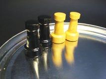2 αριθμοί σκακιού Στοκ φωτογραφία με δικαίωμα ελεύθερης χρήσης