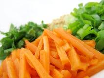 2 ασιατικά συστατικά τροφίμων Στοκ Φωτογραφίες