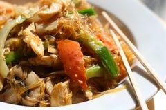 2 ασιατικά noodles Στοκ Φωτογραφία