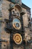 2 αστρονομικό ρολόι Πράγα Στοκ εικόνα με δικαίωμα ελεύθερης χρήσης
