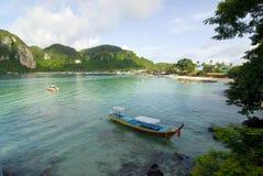 2 βάρκες που αλιεύουν την Ταϊλάνδη Στοκ φωτογραφία με δικαίωμα ελεύθερης χρήσης