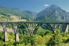2 γέφυρα Tara Στοκ φωτογραφίες με δικαίωμα ελεύθερης χρήσης