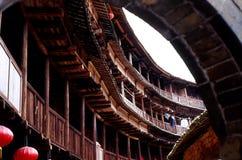 2 γήινο hakka οικοδόμησης Κίνα Στοκ φωτογραφίες με δικαίωμα ελεύθερης χρήσης