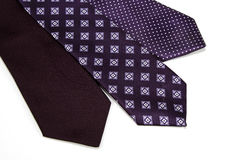 2 γραβάτες Στοκ Εικόνες