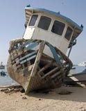 2 εγκαταλειμμένο σκάφος Στοκ Εικόνες