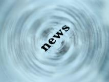 2 ειδήσεις στοκ φωτογραφίες