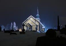 2 εκκλησία χ nefoss Στοκ εικόνες με δικαίωμα ελεύθερης χρήσης