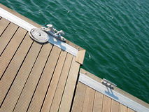 2 ελλιμενισμένο σχοινί Στοκ Φωτογραφία