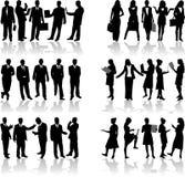 2 επιχειρηματίες διανυσματική απεικόνιση