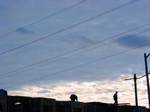 2 εργάτες οικοδομών Στοκ Φωτογραφίες