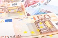 2 ευρώ τραπεζογραμματίων &alpha Στοκ εικόνες με δικαίωμα ελεύθερης χρήσης