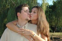 2 ζευγάρια παντρεμένα Στοκ Εικόνα