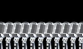2 η μαύρη Lotta mics Στοκ Φωτογραφία