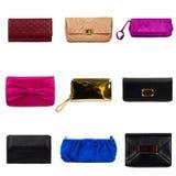 2 θηλυκά πολύχρωμα πορτοφόλια Στοκ φωτογραφία με δικαίωμα ελεύθερης χρήσης