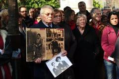 2 θύματα Franco s δικτατορίας Στοκ Φωτογραφίες