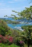 2 καραϊβικός τροπικός μπλε Στοκ εικόνες με δικαίωμα ελεύθερης χρήσης