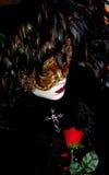 2 καρναβάλι Βενετία Στοκ Φωτογραφία
