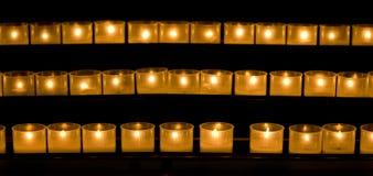 2 κεριά Στοκ Εικόνες