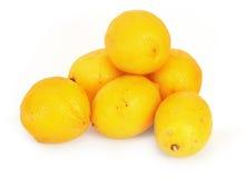 2 λεμόνια ομάδας Στοκ Εικόνα