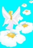 2 λουλούδια νεράιδων Στοκ Εικόνες