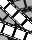 2 λουρίδες ταινιών Διανυσματική απεικόνιση