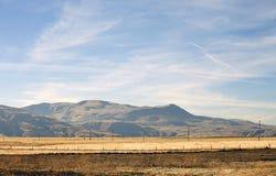 2 λόφοι πεδίων Καλιφόρνιας Στοκ φωτογραφία με δικαίωμα ελεύθερης χρήσης